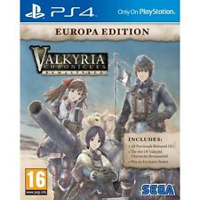 Valkyria Chronicles Remastered Europa Edition PS4 Game Brand New