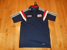 ADIDAS NEW ENGLAND REVOLUTION MLS SOCCER JERSEY KIT POLO MENS SMALL CLIMACOOL