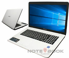 "ASUS Notebook - 17,3"" Weiß - 2 x 2,48Ghz  - 4 GB - 1 TB HDD - Win 10 Pro !!"