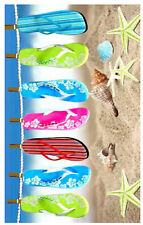 Large Cotton Summer Beach Towel Swimming Camping Gym Slipper Star Lightweight