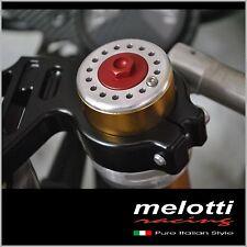 APRILIA RS 125 - Fork caps Melotti Special Parts