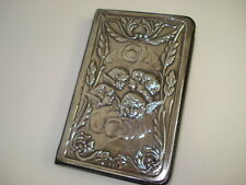 UNUSED STERLING SILVER ADDRESS BOOK LORD CHALTAM COLLECTION TKI CHERUB FANCY