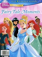 Disney Princess Magazine 2015 Poster-A-Page FAIRY TALE MOMENTS  FREE SHIPPING!