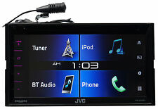 "JVC KW-V330BT 6.8"" 2-Din Car DVD Receiver w/Bluetooth/Siri Eyes/iPhone/Android"