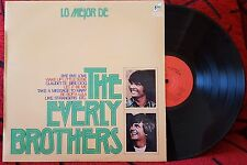 Rockabilly THE EVERLY BROTHERS ** Lo Mejor ** VERY RARE 1974 Spain LP
