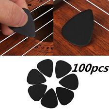 100Pcs Acoustic Guitar Picks Plectrums Musical Instrument Part Accessories Set