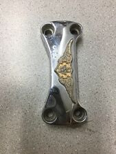 1981 honda gl1100 goldwing chrome top handle bar clamp