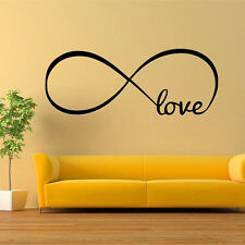 Love Removable Wall Stickers Art Vinyl Quote Decal Mural Home Bedroom Decor PVC