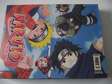 NARUTO UNCUT ORIGINAL JAPANESE VERSION 3 DVD BOX SET / RARE COVERS