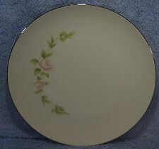 "Style House Pink TUDOR ROSE (6) Dinner Plates 10 5/8"" Lot of 6 Plates"