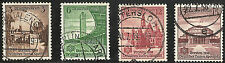Deutsches Reich Turn- und Sportfest Mi. 665 - 668 komplett rundgestempelter Satz
