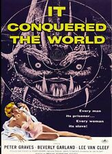It Conquered the World (1956) Roger Corman, Beverly Garland Classic B Sci-Fi