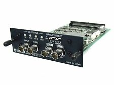 Yamaha MY8-SDI-ED SDI EMBED/DE-EMBED CARD DM1000 DM2000 02R96 CL5 CL3 01V96