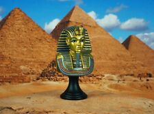 Egypt Egyptian Civilization Pyramid Pharaoh King Tut Mask Cake Topper K1166 C