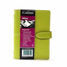 Collins Milan Organiser Pocket Size Diary Green Address Book Special Offer