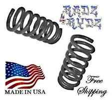 """2004-2014 Ford F150 2WD 4WD 3"""" Front Drop Coils Lowering Springs Lowering Kit"""