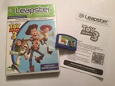 LEAP FROG LEAPFROG LEAPSTER 1 I 2 II GAME Disney Pixar TOY STORY 3 COMPLETE