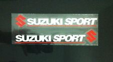 A Pair Amazing Rearview Mirror Car stickers Decals Graphics For Suzuki (White)