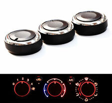 AC Car Heat Control Button Knob Aluminum Panel Switch for Toyota Tacoma 2014