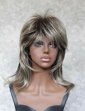 Long Soft Shaggy Layered Grey Ombre Classic Cap Full Synthetic Wig Wigs - #10