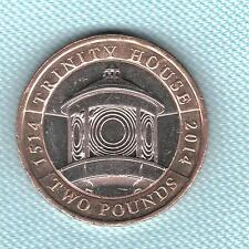 ELISABETTA II. £ 2 sterline 2014 Trinity House 500th Anniversario. Coin Hunt