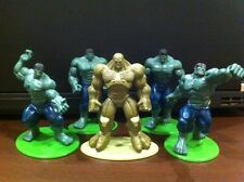 Hulk set of 5 around 2.5 inch (not hot toys, enterbay, marvel)