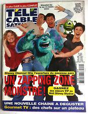 Télé Cable Satellite du 16 au 22/03/2002; Disney Channel fête sont nouveau parc