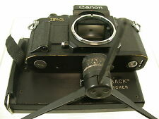 Canon f1 f-1 N New Pro back by ricercatori NPC prüfert Collection/14