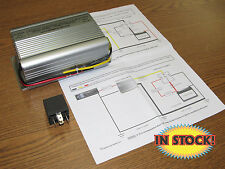 New Port 6 to 12 Volt Power Inverter for Positive or Negative Ground NE14206