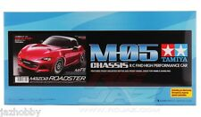 Tamiya 58624 1/10 RC Car M-05 Chassis Mazda MX-5 Miata Roadster ND Kit w/ESC