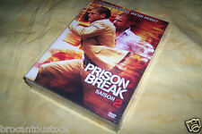 COFFRET 6 DVD  SAISON 2 PRISON BREAK DUREE 16 HEURES 22 EPISODES