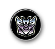 "TRANSFORMERS / 1"" / 25mm pin button / badge / Marvel / Autobots / Decepticons"
