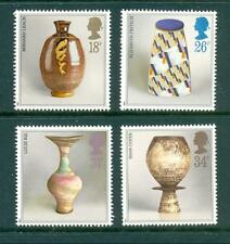 GB 1987 Studio Pottery set. Mint MNH. One postage for multiple buys.
