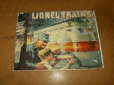 Ancien catalogue / vintage catalog - LIONEL TRAINS 1935