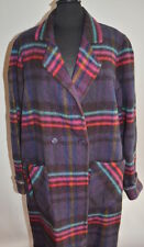 International Classic Inc.Womens Double Breasted Indian Blanket Coat Multi-Color