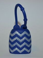 BATH & BODY WORKS BLUE CHEVRON POCKETBAC HOLDER SLEEVE HAND SANITIZER GEL CASE