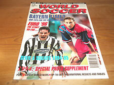 Football Magazine World Soccer February 1995 Juventus Real Madrid Pele Okocha