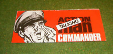 VINTAGE ACTION MAN 40th MANUAL LEAFLET TALKING COMMANDER