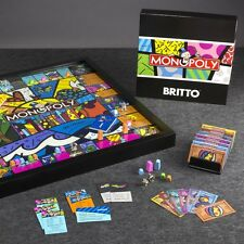 Monopoly Miami Collectors Edition Board Game by Romero Britto