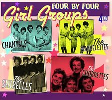 """Girl Groups"" The Chantels, The Shirelles, The Marvelettes, The Chordettes [4CD]"