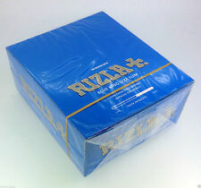 RIZLA BLUE KING SIZE SLIM, SMOKING ROLLING PAPERS (50 BOOKLETS)