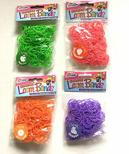 100 packs 300 scented loom bands christmas stocking fillers wholesale party new