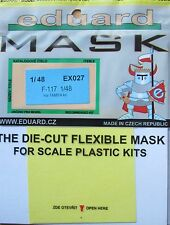 Eduard 1/48 EX027 Canopy Mask for the Tamiya F-117 Nighthawk kit
