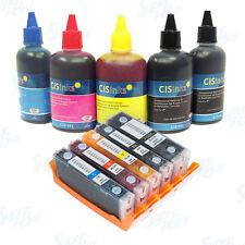 Refillable Ink Cartridge Kit for Canon PGI-270 CLI-271 XL PIXMA MG6821 MG6822