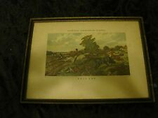 "Harris & Herring's ""Full Cry""  Fox Hunting Scene Engraving Print"