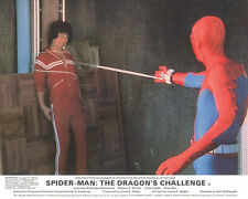 Spider-Man The Dragon's Challenge Original Lobby Card Nicholas Hammond