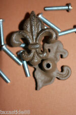 (150) French Style Hardware, Fleur De Lis Pulls, Drawer Knobs, Cabinet Pulls