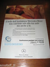 *AH35=MERCEDES-BENZ=PUBBLICITA'=ADVERTISING=WERBUNG=COUPURE=