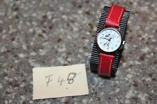 Disney Women's MN1023 Minnie Mouse White Dial Red Strap Watch F48