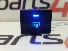 FOCUS MK2 / TRANSIT / C-MAX BLUE LED HEATED REAR WINDOW DEMISTER SWITCH - 5 PIN